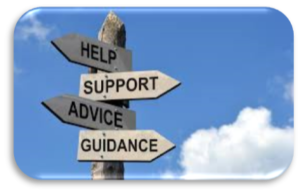 Signposting to advice and guidance